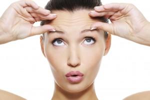 injectare botox frunte